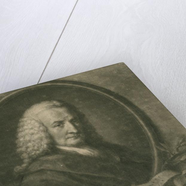 Portrait of Johann Heinrich Hampe (1697-1777) by Thomas Burke