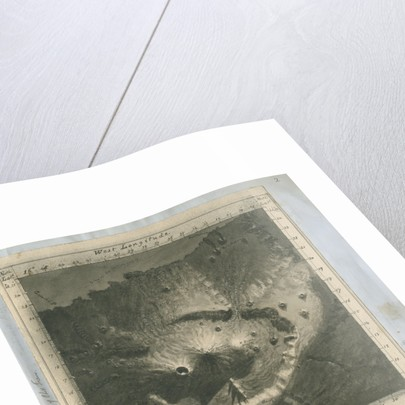 'Provisional map of the Peak of Teneriffe' by Charles Piazzi Smyth