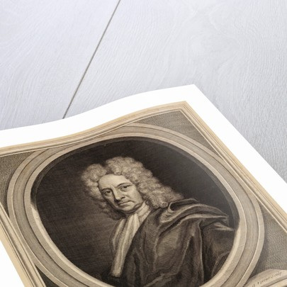 Portrait of Edmond Halley by George Vertue