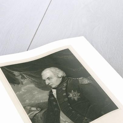 Portrait of John Jervi, Earl of St Vincent (1735-1823) by Henry Wallis
