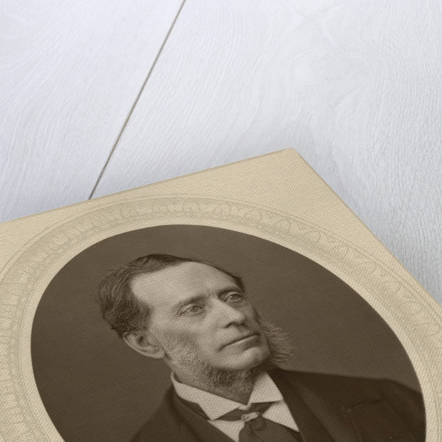 Portrait of Francis Leopold McClintock (1819-1907) by Lock and Whitfield