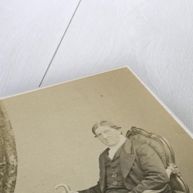 Portrait of Thomas Dyke Acland (1809-1898) by Maull & Polyblank