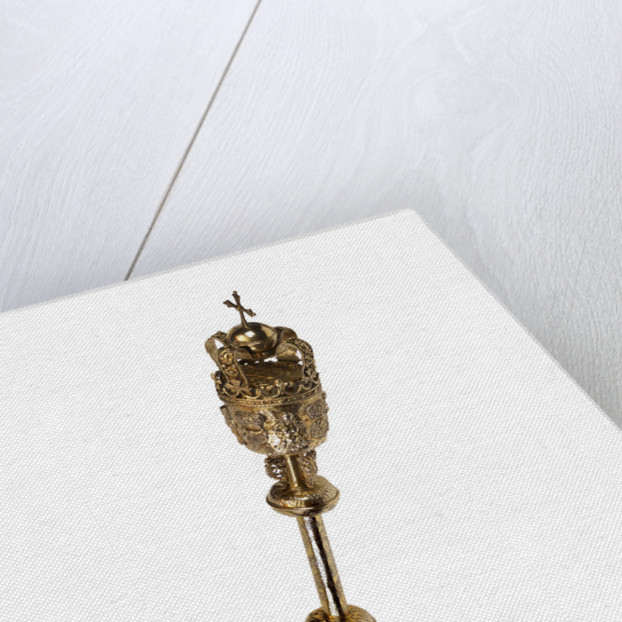 The Royal Society mace by Anonymous