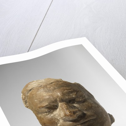 Death mask of Isaac Newton by Michael Rysbrack