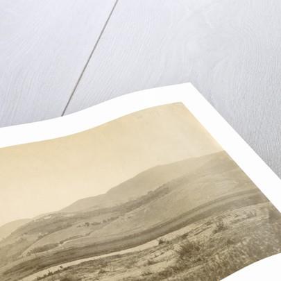 An Italian landscape by Alphonse Bernoud Grellier