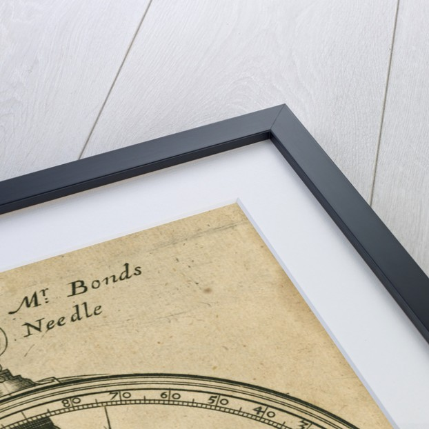 A figure of Mr. Bonds Inclinatory Needle by Anonymous