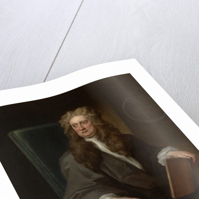 Portrait of Isaac Newton (1642-1727) by John Vanderbank