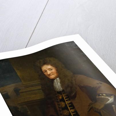 Portrait of Paul Rycault (1629-1700) by Hans Hinrich Rundt
