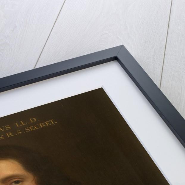Portrait of Edmond Halley (1656-1742) by Thomas Murray