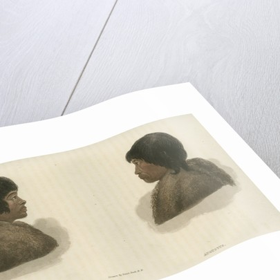 Inuit interpreters: Junius [L] and Augustus [R] by Edward Francis Finden
