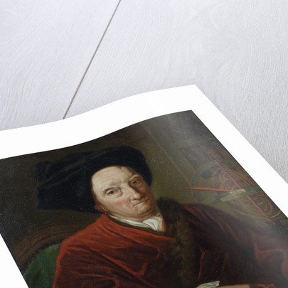 Portrait of Bernard le Bovier de Fontenelle (1657-1757) by unknown
