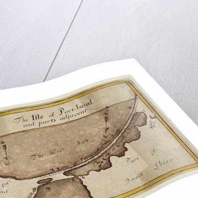 Map of the Isle of Portland by Anonymous