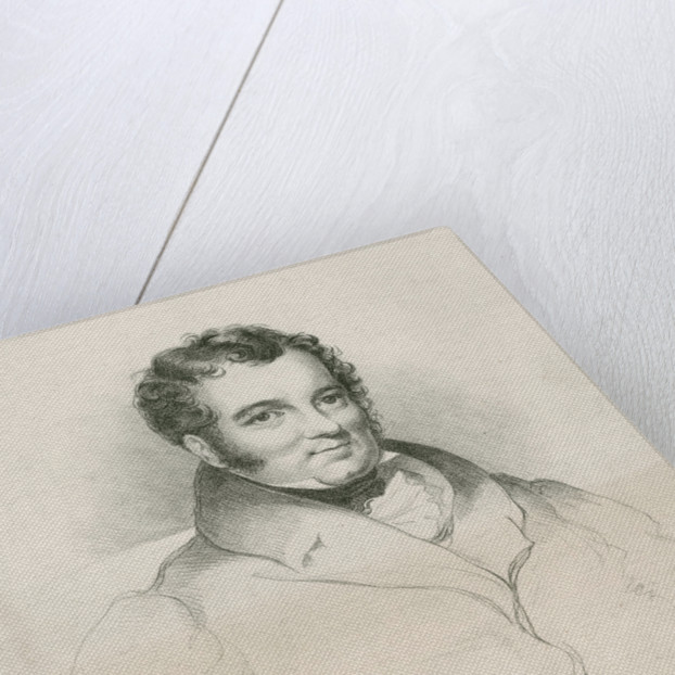 Portrait of Lewis Weston Dillwyn (1778-1855) by Graf & Soret