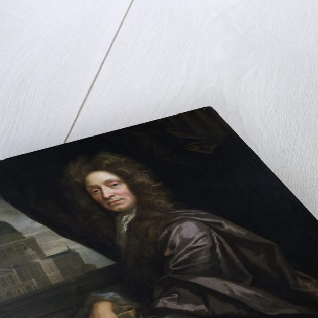 Portrait of Christopher Wren (1632-1723) by John Closterman