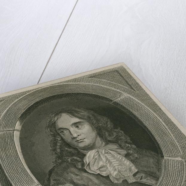 Portrait of Thomas Flatman (1635-1688) by Anthony Walker