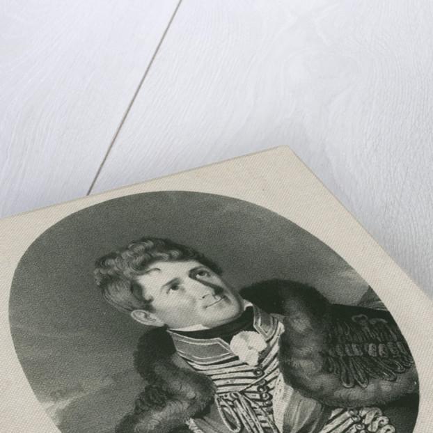 Portrait of Augustus Simon Frazer (1776-1835) by Charles Joseph Hullmandel