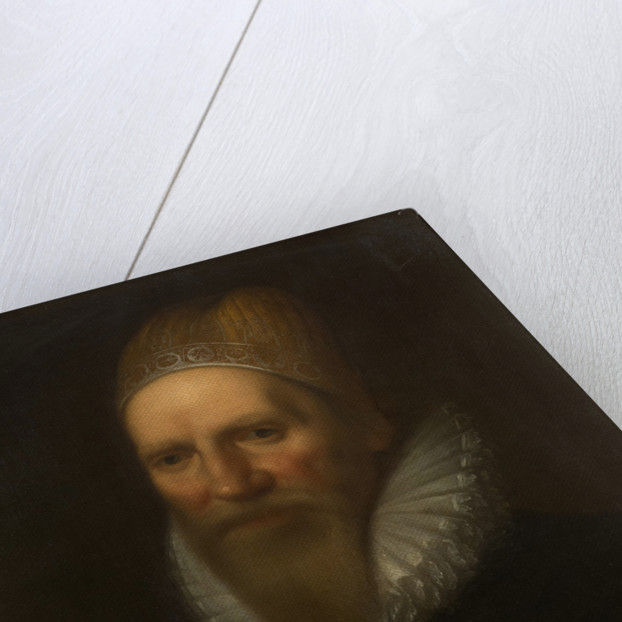 Portrait of Henry Spelman (1563-1641) by Studio of Cornelius Janssen van Ceulen