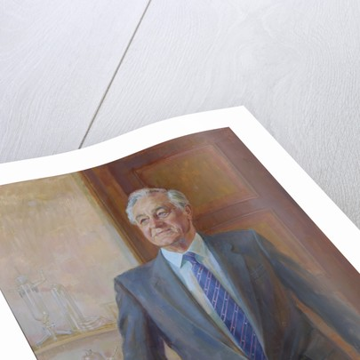 Portrait of George Porter, Baron Porter of Luddenham (1920-2002) by June Mendoza