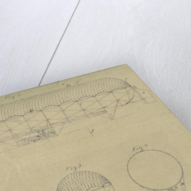 Airship design by Adolf Runge