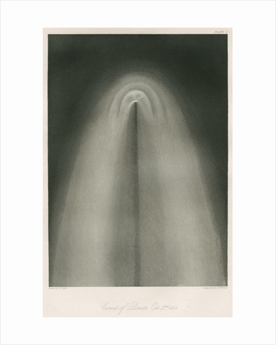 Donati's Comet, 2 October 1858 by James W Watts