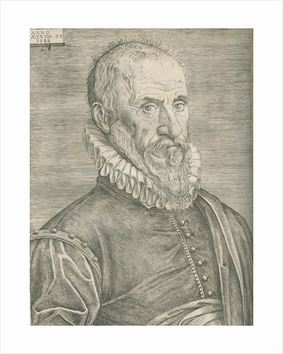 Portrait of Ambroise ParÚ (1505-1590) by Anonymous