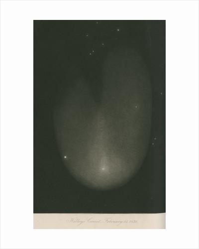 Halley's Comet, 14 February 1836 by James Basire III