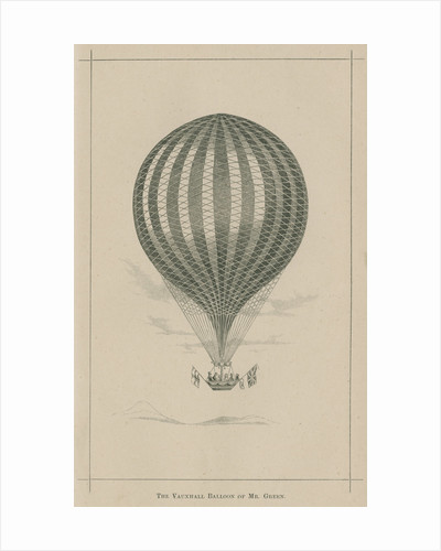 'The Vauxhall balloon of Mr. Green' by William Ballingall