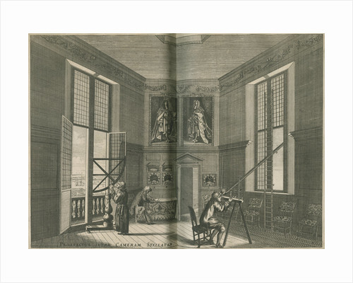 The Octagon Room at the Royal Observatory, Greenwich by Francis Place