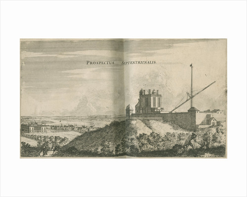 View overlooking the Royal Observatory, Greenwich by Francis Place