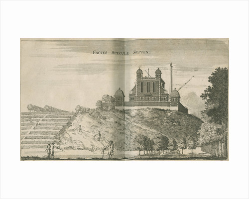 View facing the Royal Observatory, Greenwich by Francis Place