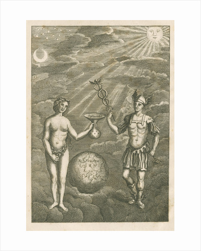 An allegory of chemistry by unknown