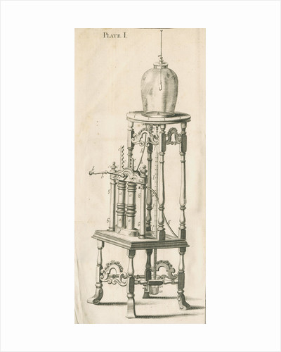 Francis Hauksbee's air pump by unknown