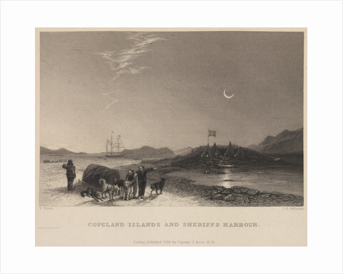 Copeland Islands and Sheriffs Harbour by James Tibbits Willmore