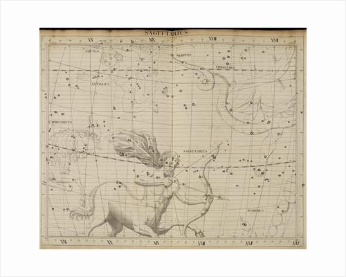 Sagittarius, from John Flamsteed's 'Atlas Coelestis' by Anonymous
