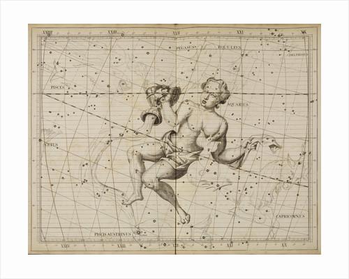 Aquarius, from John Flamsteed's 'Atlas Coelestis by Anonymous