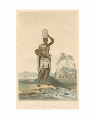 'An African woman' by Thomas Medland