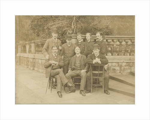 Group portrait of Trinity College undergraduates by unknown