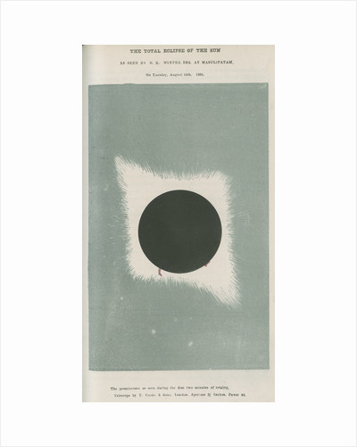 Total eclipse of the Sun by G K Winter