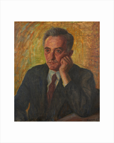 Portrait of Max Born by Herman Hirsch