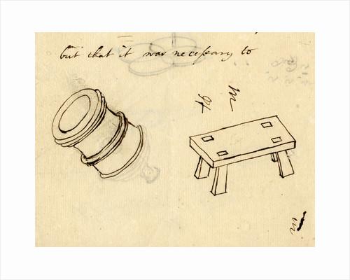 Mortar and mount by Benjamin Robins
