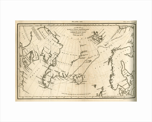 Map of Greenland by W & D Lizars