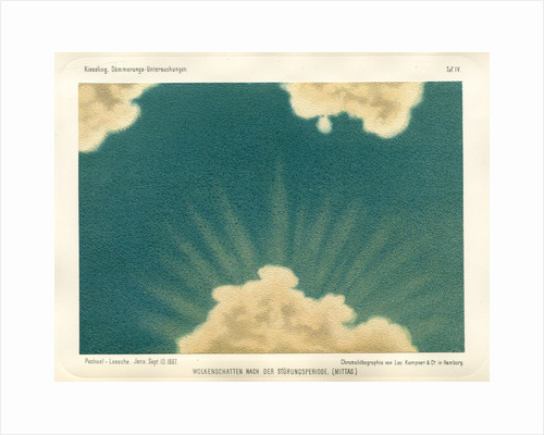 Cloud shadow, noon by Leo Krauss and Company