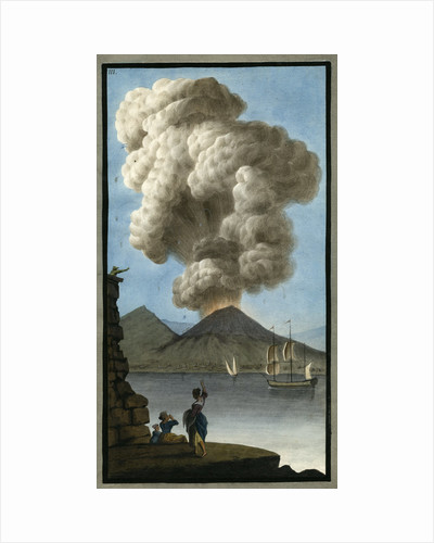 Eruption of Mount Vesuvius by Pietro Fabris
