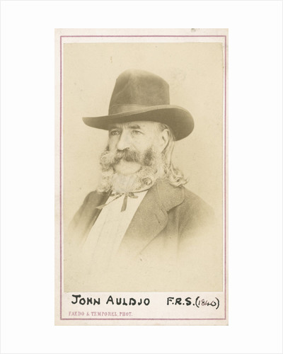 Portrait of John Auldjo (1805-1886) by Faedo & Temporel