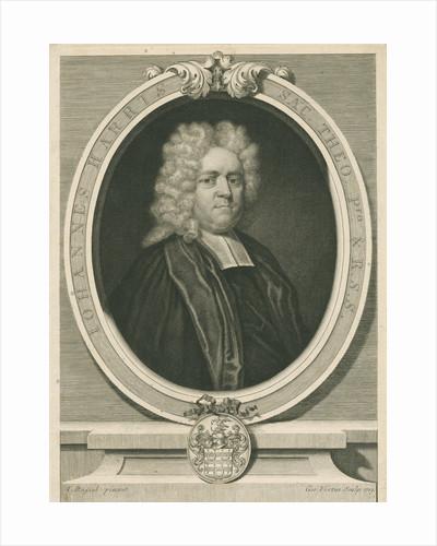 Portrait of John Harris (1661-1719) by George Vertue