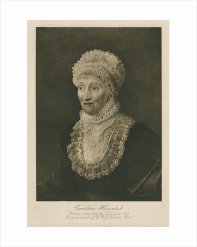 Portrait of Caroline Lucretia Herschel (1750-1848) by Anonymous