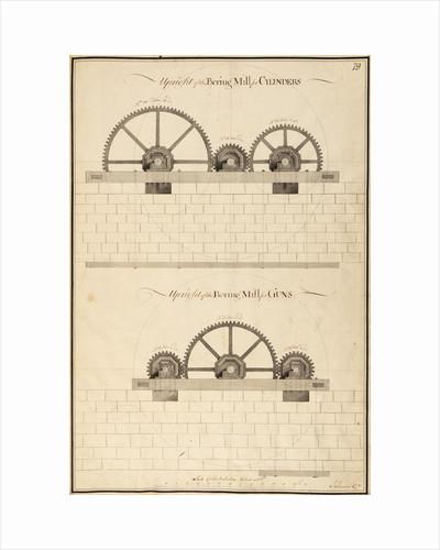 Boring mill by John Smeaton