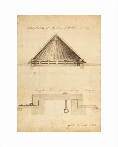 Observatory roof by John Smeaton