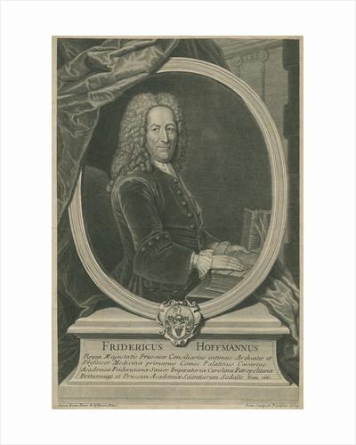 Portrait of Friedrich Hoffmann (1660-1742) by Gilles Edme Petit