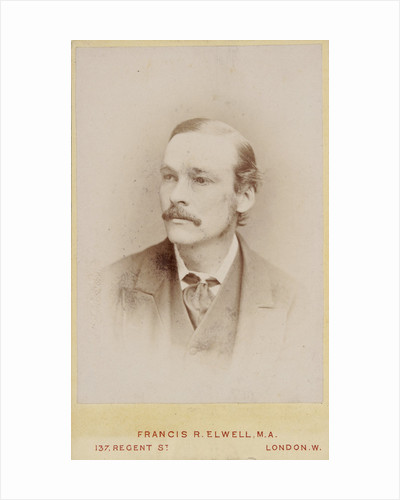 Portrait of Francis Maitland Balfour (1851-1882) by Francis R Elwell